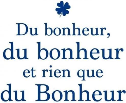 Sticker bonheur